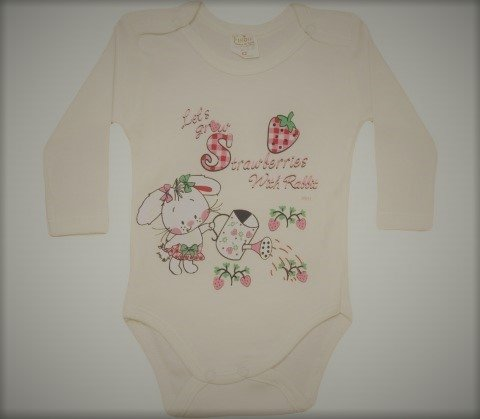 Body niemowlęce Strawberries 0021