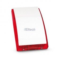 Sygnalizator zewnętrzny akustyczno-optyczny (obudowa. z PC; osłona metalowa; światło czerwone; przetwornik PIEZO) SP-4001 R Satel