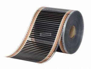 Folia grzewcza Termofol o szerokości 25cm i mocy 55W/mb - 220W/m2