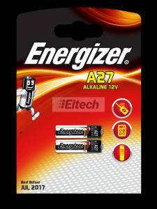 ENERGIZER BATERIA A27 12V ALKALINE 393330