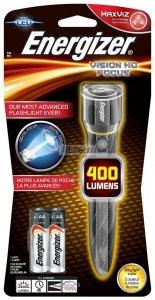 LATARKA ENERGIZER METAL VISION HD 3XLED 400LM ŚRED