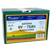 Bateria alkaliczna 9V LubaCell