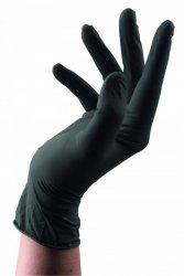 Rękawiczki nitrylowe czarne