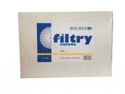 Filtry rurowe 200szt. 320 mm x 57 mm
