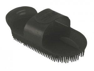 Zgrzebło iglak regulowane plastikowe czarne