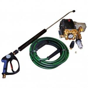 Myjka wysokociśnieniowa z napędem hydraulicznym 125 bar