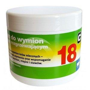 Balsam do wymion z efektem rozgrzewającym 18 500 ml