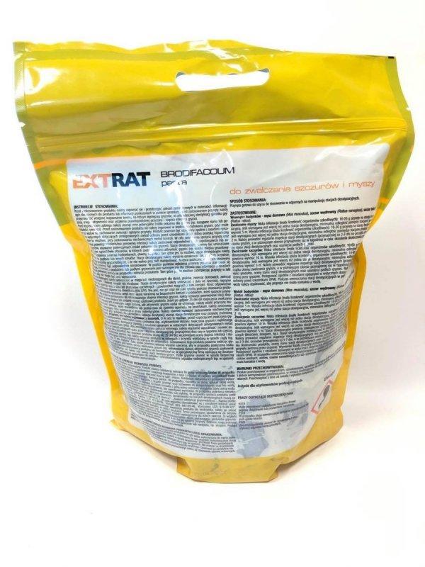 Extrat pasta niebieska 3kg - trutka na myszy i szczury