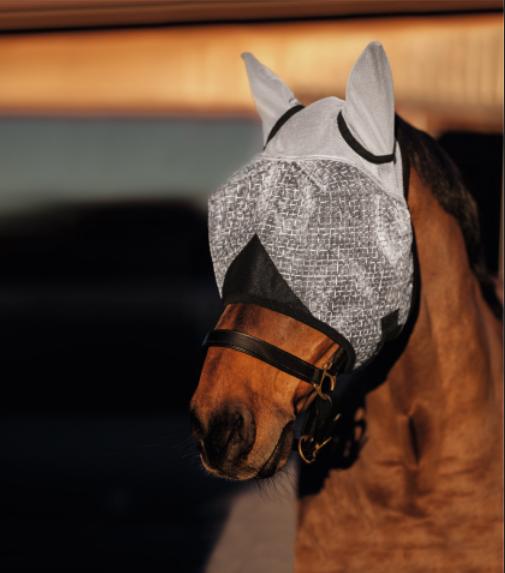 Maska przeciw owadom z ochraniaczem na uszy