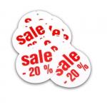 Zawieszka wyprzedażowa SALE 20% - 10 sztuk