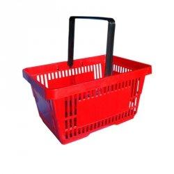Koszyk sklepowy 22L - I rączka - kolory
