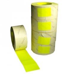 Taśma do metkownicy dwurzędowej BLITZ żółta