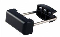 Złącze zaciskowe metalowe do mocowania paneli ogrodzeniowych 40x80 - 20 sztuk