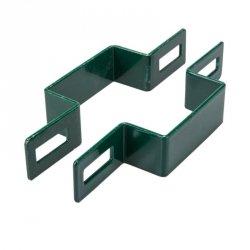 Obejma pośrednia 80x80 zielona - 1 sztuka