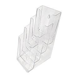 Stojak, podajnik na ulotki piętrowy 4x1/3 A4DL