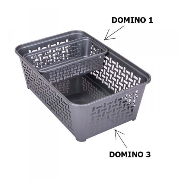 Koszyczek plastikowy DOMINO 3