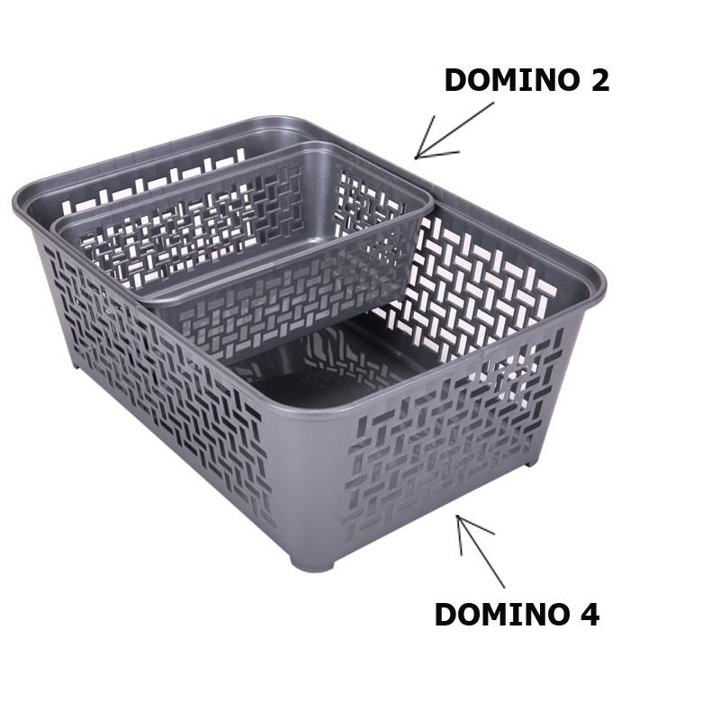 Koszyczek plastikowy DOMINO 4