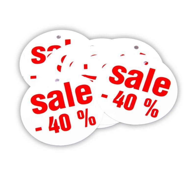Zawieszka wyprzedażowa SALE 40% - 10 sztuk