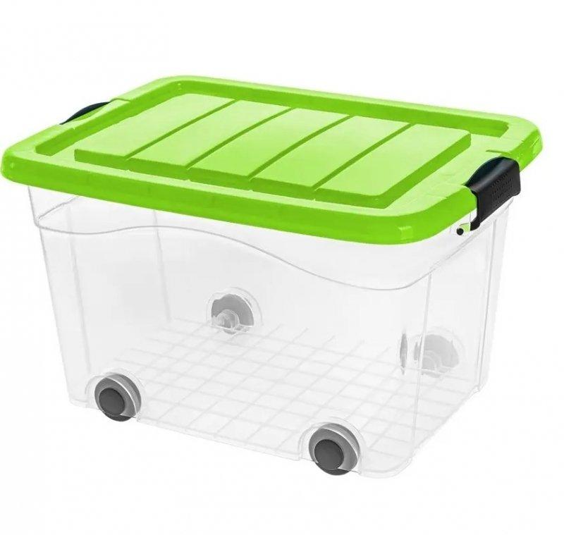 Pojemnik Roller Box z pokrywą 40L - kolory