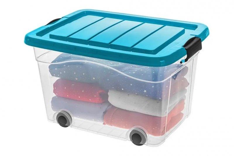 Pojemnik Roller Box z pokrywą 100L - kolory