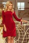 Sukienka Model Alice 195-3 Bordo