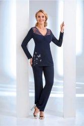 Piżama Damska Model Dorothy Navy