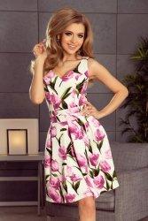 Sukienka Model 160-4 Tulipany