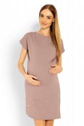 Sukienka Ciążowa Model 1629C Cappuccino