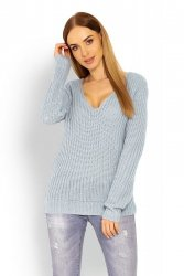 Sweter Damski Model 40006 Grey