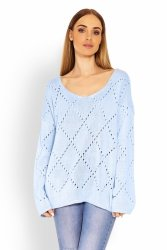 Sweter Damski Model 30058 Sky Blue