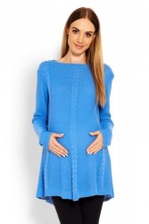 Sweter Ciążowy Model 40005C Jeans