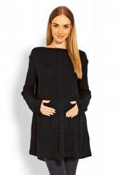 Sweter Ciążowy Model 40005C Black