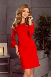 Elegancka sukienka S-XL Model 190-3 Margaret Red