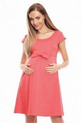 Sukienka Ciążowa Model 0129 Coral