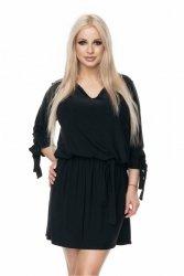 Sukienka S-XL 0115 czarna