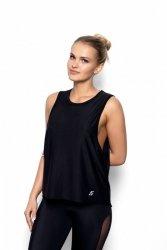 Koszulka Fitness S-XL ABEL czarna