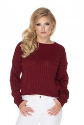 Sweter Damski Model 70022 Bordo