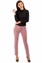 Eleganckie spodnie MOE046 Pink