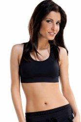 Biustonosz Sportowy Model Nika Black