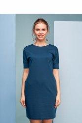 Klasyczna sukienka akwamaryna GR1364