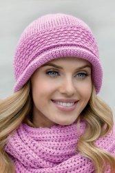 Czapka Model Regina Pink