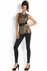 Legginsy Model Agnes Plush Black