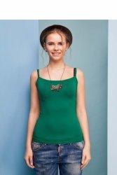 Klasyczna koszulka na ramiączkach GR1046 Green