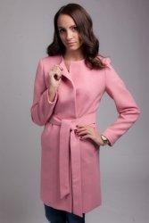 Płaszcz damski PLA026 pink