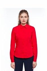 Bazowa bluzka w modnych kolorach GR1296_1 Red