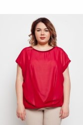Elegancka eteryczna damska bluzka TR1831 Rubinowy