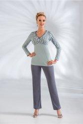 Piżama Damska Model Tina Mint