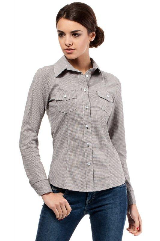 Koszula MOE019 Brown