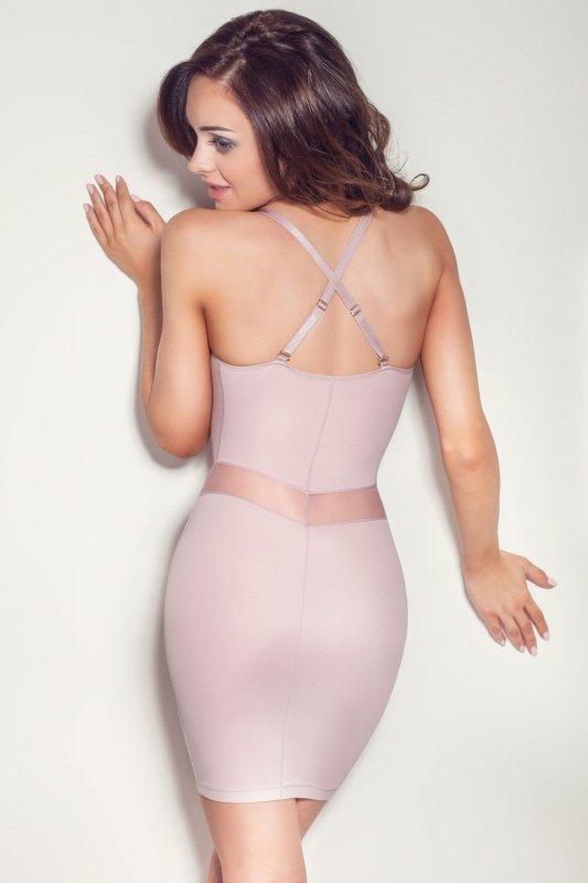 Sukienka Model Grace Powder Pink
