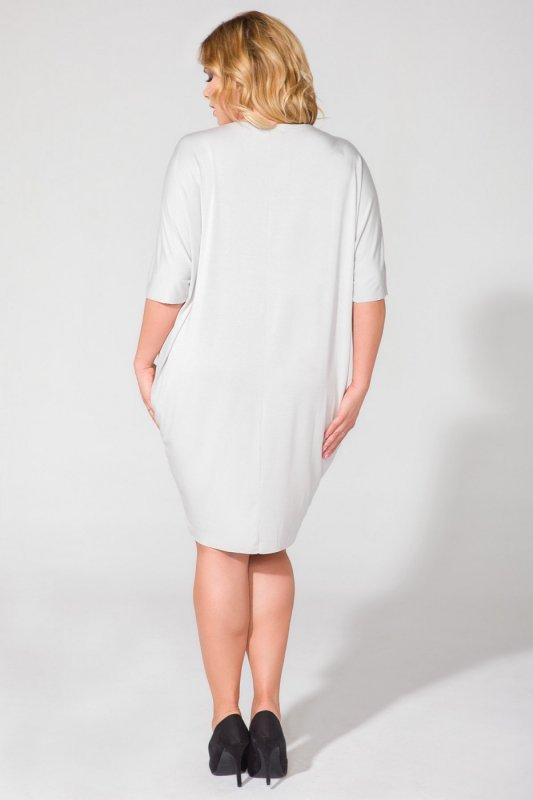 Sukienka Model PS1 Light Grey